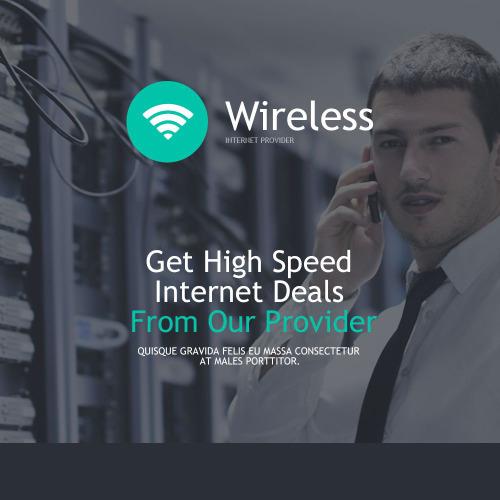 Wireless - Responsive Newsletter Template
