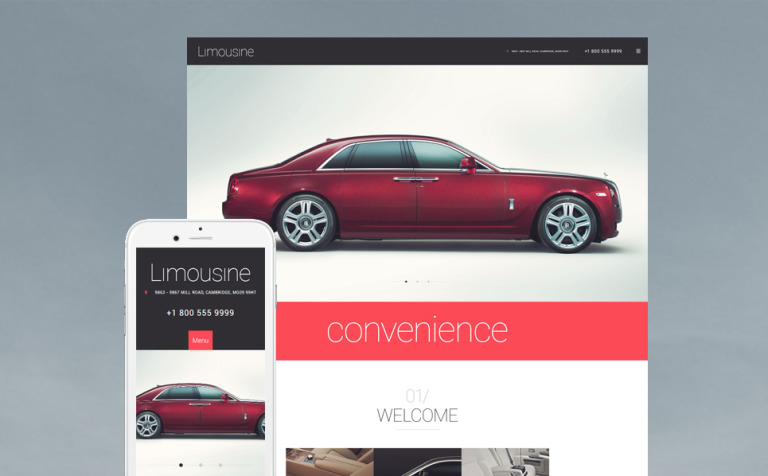 Limousine WordPress Theme