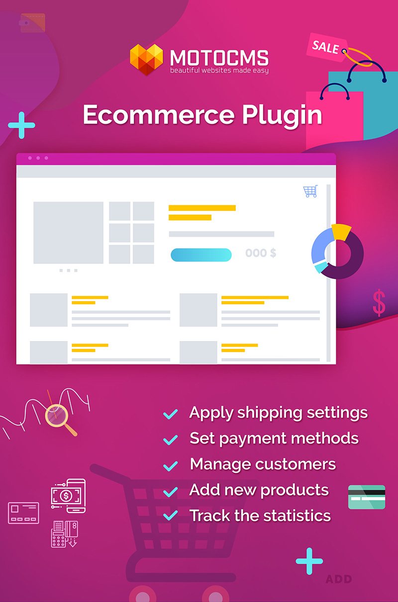 """Modello Plugin Responsive #55064 """"E-commerce"""""""