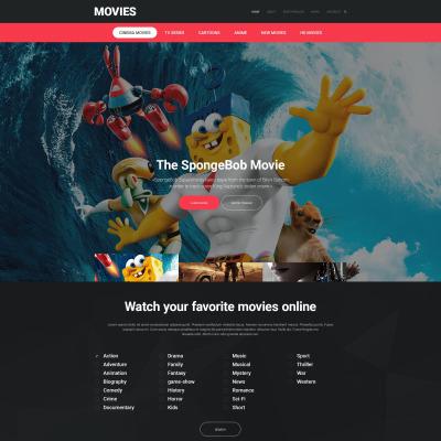 14+ Best Movie Website Templates
