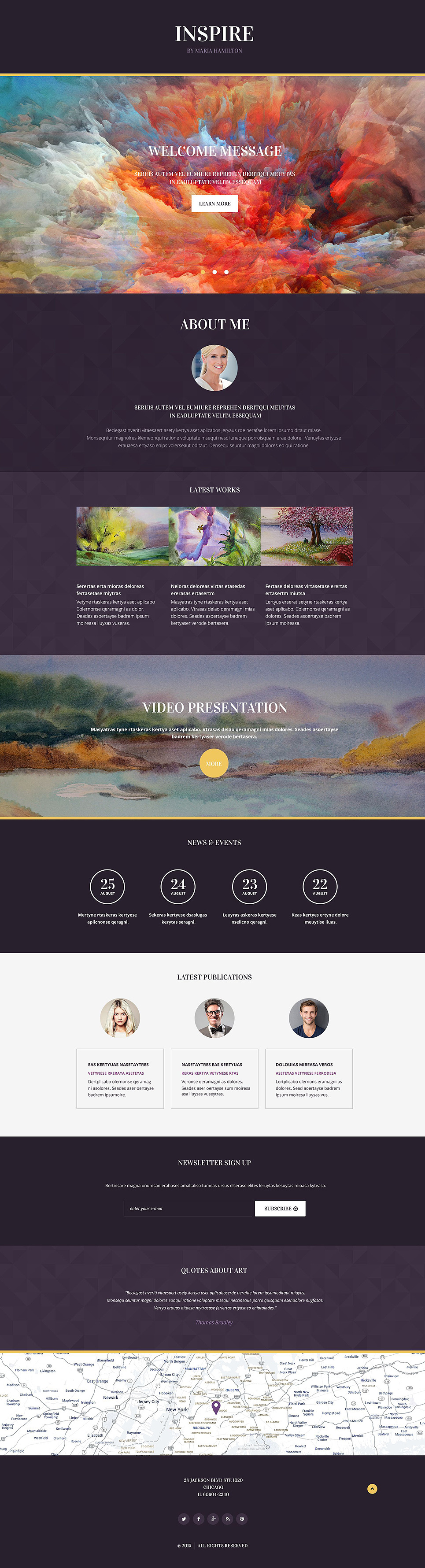 Painting Company Responsive Landing Page Template New Screenshots BIG