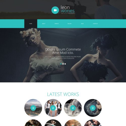 Lleon Wones - Joomla! Template based on Bootstrap