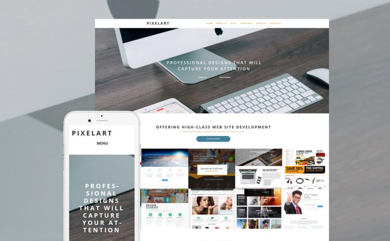 PixelArt WordPress Theme