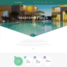 Pool Maintenance Responsive Website
