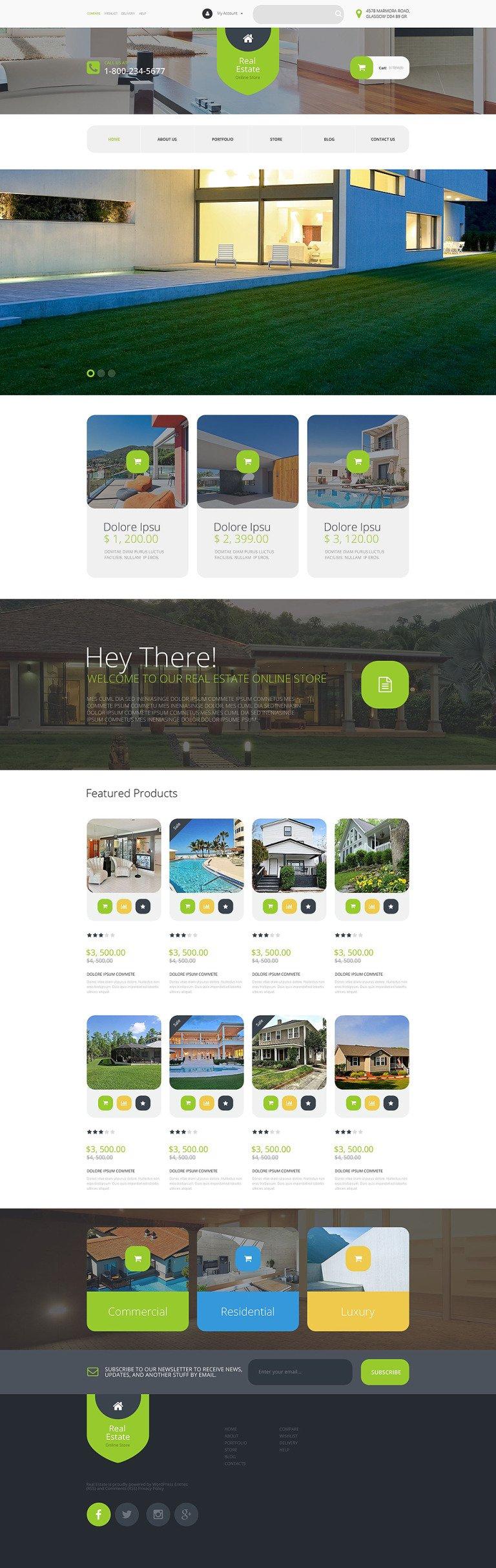 Real Estate Agency WooCommerce Theme New Screenshots BIG