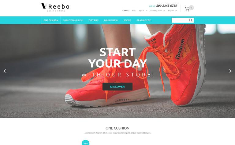 Reebo PrestaShop Theme