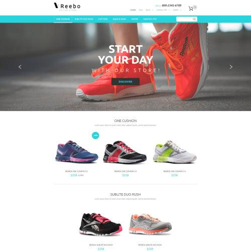 Reebo - PrestaShop Template based on Bootstrap