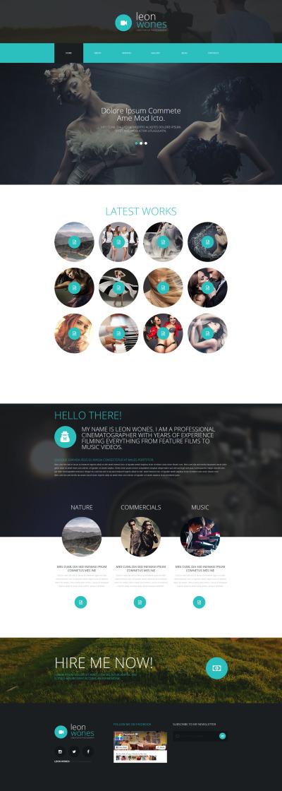 Responsywny szablon Joomla #55060 na temat: portfolio fotograficzne