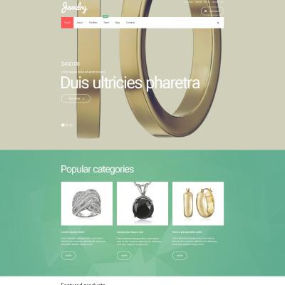 Jewelry Responsive WooCommerce Motiv