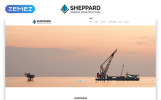 Reszponzív Sheppard - Marine Construction Responsive Classic HTML5 Weboldal sablon