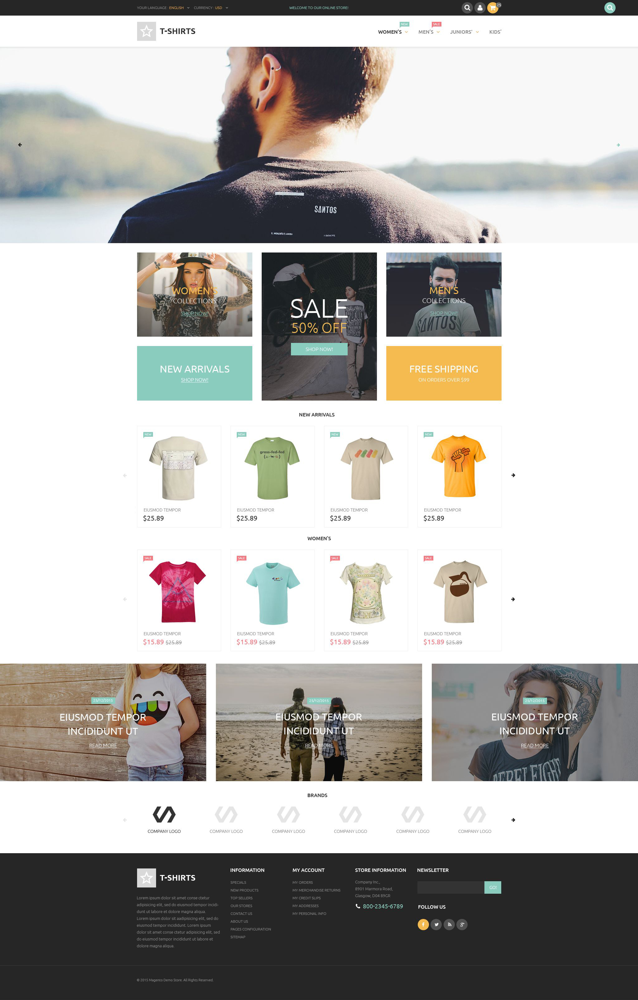 T shirt shop prestashop theme t shirts prestashop theme fandeluxe Gallery