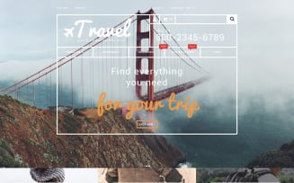 Travel Gear Store PrestaShop Theme
