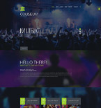 Night Club Joomla  Template 55102