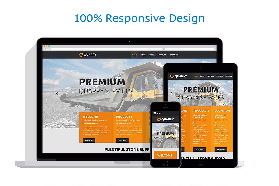 Modèles HTML5 Industriel #55103