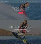 Sport Website  Template 55105