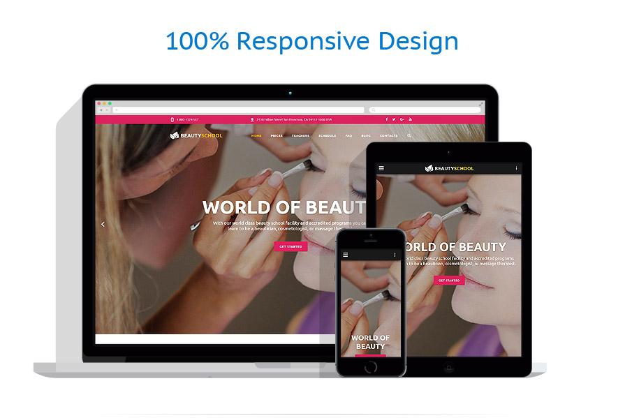 Modèles HTML5 Beauté #55107