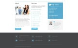 Free Business Responsive Website Template Website Template