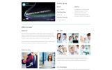 "Template Siti Web Responsive #55108 ""Free Business Responsive Website Template"""