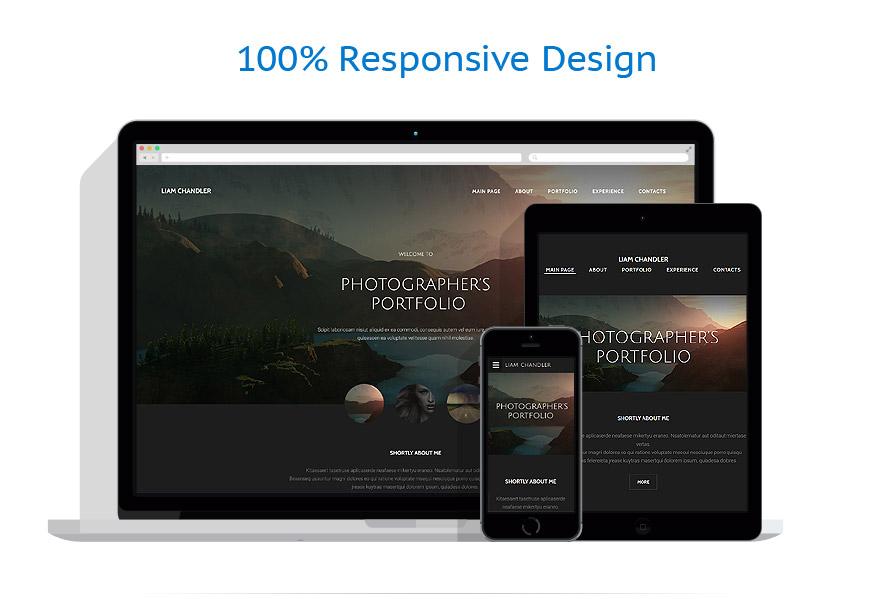 Modèles HTML5 Art et Photographie #55114