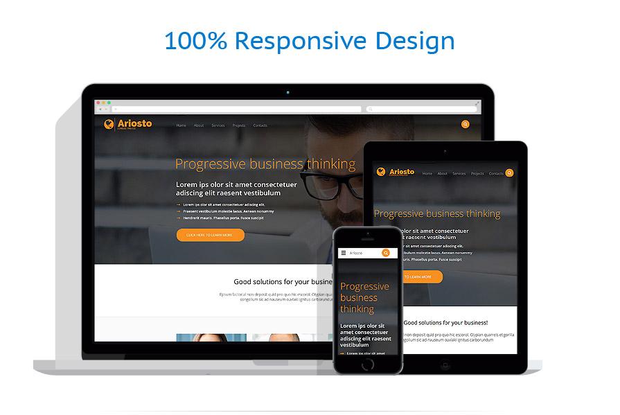 Modèles HTML5 Affaires #55115