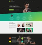 Sport Website  Template 55117