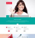 Medical Website  Template 55118