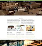 Hotels Drupal  Template 55120