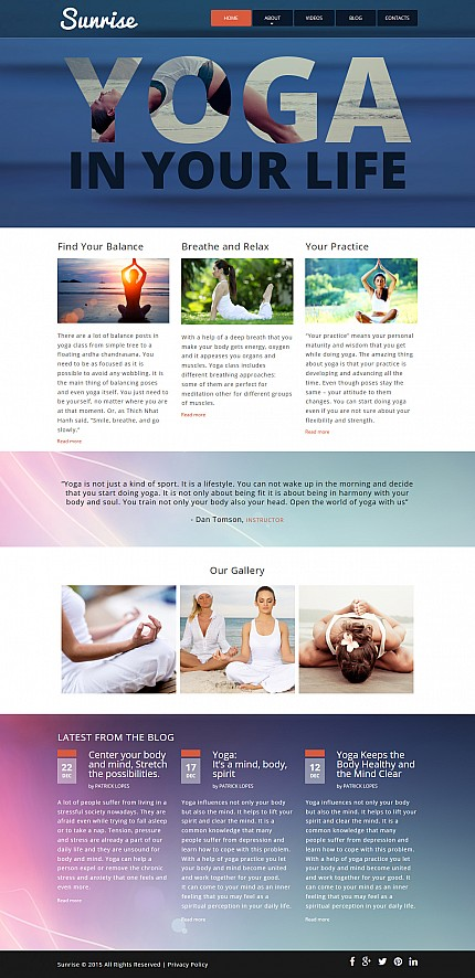 ADOBE Photoshop Template 55134 Home Page Screenshot