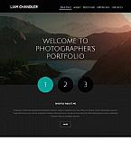 Art & Photography Moto CMS 3  Template 55137