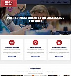 Education Moto CMS 3  Template 55140