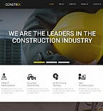 Architecture Moto CMS 3  Template 55141