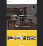 Real Estate Website  Template 55144