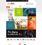 Animals & Pets WooCommerce Template 55155