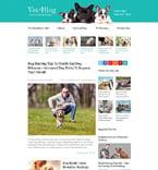 Animals & Pets Website  Template 55156