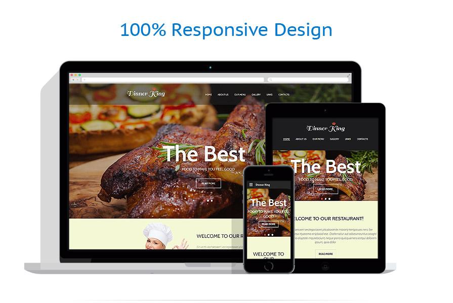 Modèles HTML5 Café et Restaurant #55158