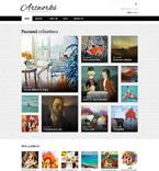 Art & Photography VirtueMart  Template 55161