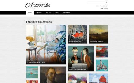 Artworks VirtueMart Template