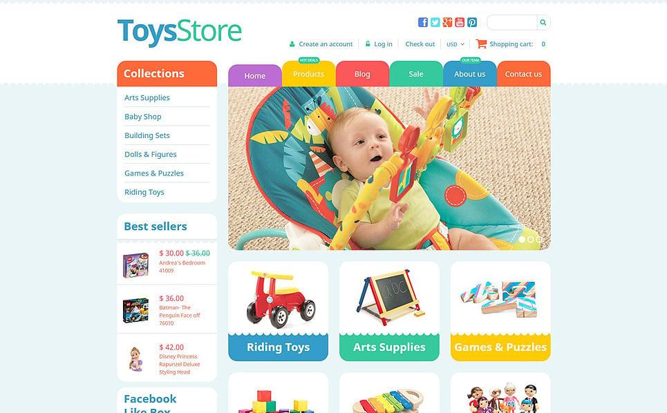 Responzivní Shopify motiv na téma Obchod s hračkami New Screenshots BIG