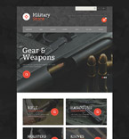 Military osCommerce  Template 55167