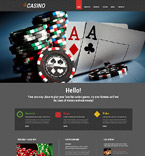 Casino WordPress Template 55168