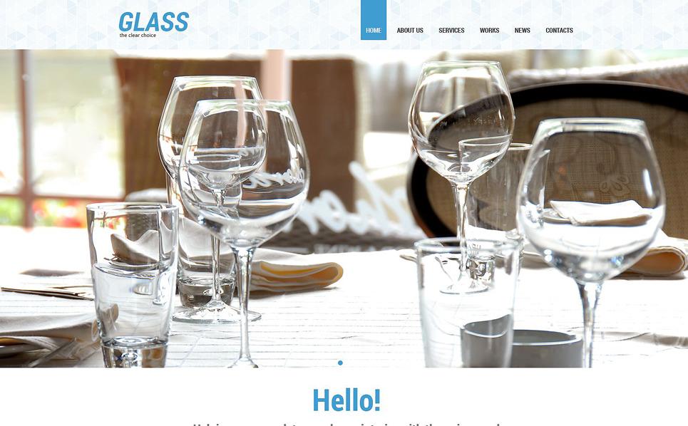 Responzivní WordPress motiv na téma Okna New Screenshots BIG