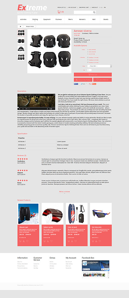 ADOBE Photoshop Template 55186 Home Page Screenshot