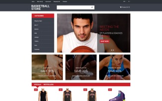 Basketball Store OpenCart Template
