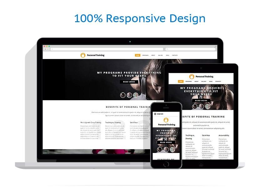 Modèles HTML5 Sport #55191