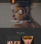 Beauty Website  Template 55192
