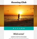 Sport Newsletter  Template 55194