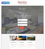 Real Estate Landing Page  Template 55196
