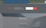 Responsivt Rentio - Rent Company Clean HTML5 Landing Page-mall