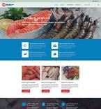 Food & Drink Website  Template 55197