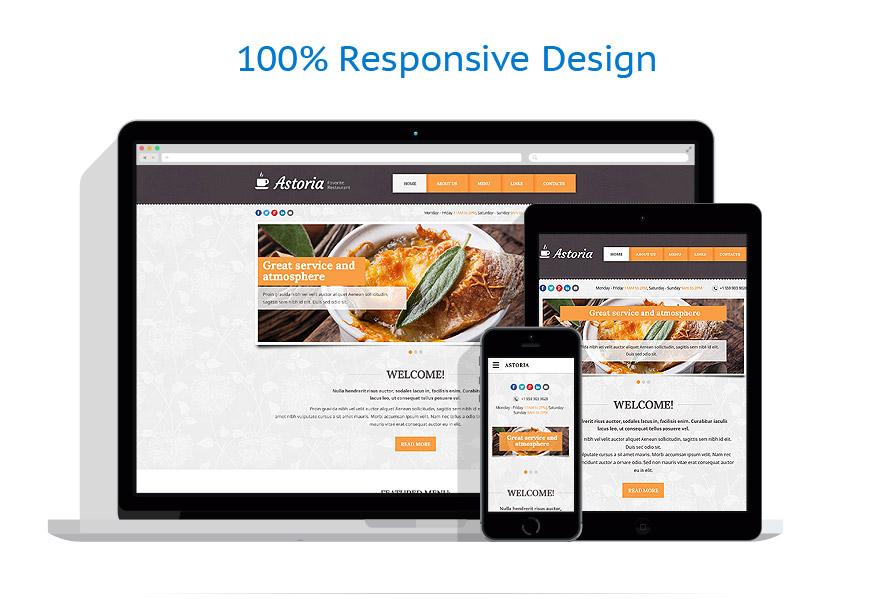 Modèles HTML5 Café et Restaurant #55199